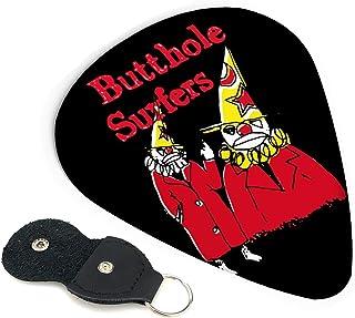 TONICKZILLA Butthole Surfers バットホール・サーファーズ ギターピック オシャレ ベース、カポタスト ギター、カポ アコースティックギター、ウクレレ、エレキギター用 ピック トライアングル 6枚セット プレゼント