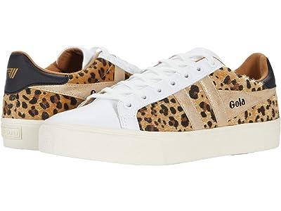 Gola Orchid II Africa (White/Leopard/Gold) Women