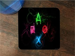 Game Icons Silicone Drink Beverage Coaster 4 Pack by EandM