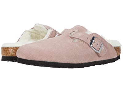 Birkenstock Boston Shearling (Lavender) Clog Shoes