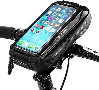 Cheftick 自転車 スマホホルダー ロードバイク 収納可能 防水 防塵 強力固定 6.5インチ対応 ロードバイク スタンド 日本語説明書付き