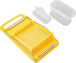 Luncheon Meat Slicer and Hawaiian Musubi Maker Set   None Toxic, BPA Free, Easy to Clean   Made in Japan