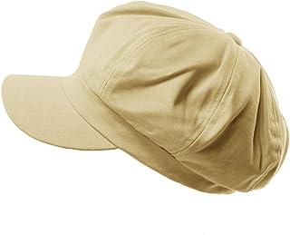 924503e104e Summer 100% Cotton Plain Blank 8 Panel Newsboy Gatsby Apple Cabbie Cap Hat
