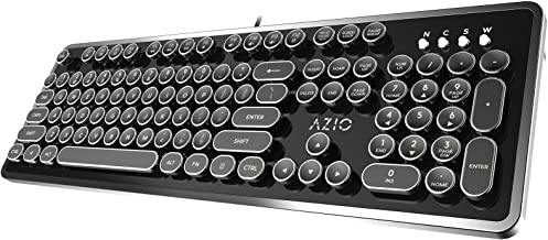 vintage style bluetooth keyboard