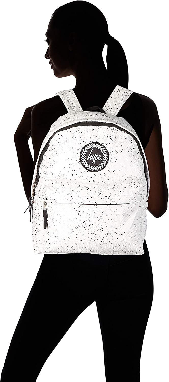 Hype Flakes Multicolour W x H L White//Pink Unisex Adults/' Backpack 30x41x15 cm