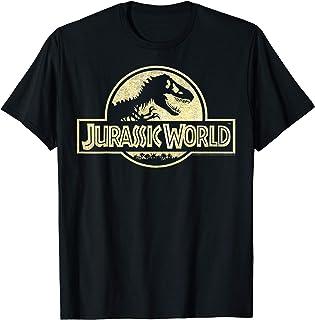 Jurassic World Gold Logo T-Shirt