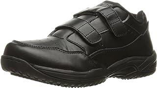 حذاء عمل رياضي رجالي موحد 9635 من AdTec بشريط فيلكرو أسود