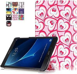 Funda para Samsung Galaxy Tab A 10,1 pulgadas - Funda, Ultra Delgada, Carcasa para Samsung Galaxy Tab A 10,1 pulgadas(SM-T580/SM-T585) Funda de piel para tablet estilo libro #1 Cuore di amore