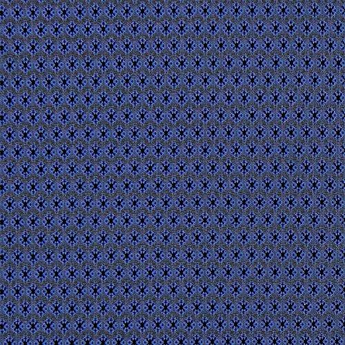 Fabulous Fabrics Futterstoff marineblau, 145cm breit – zum Füttern von Jacken, Kleidern oder Mänteln - Meterware erhältlich ab 0,5 m