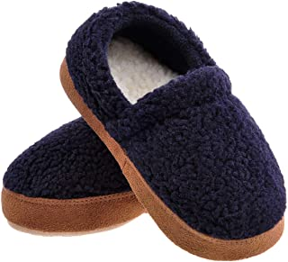MIXIN Kids Soft House Slippers with Warm Plush