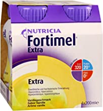 FORTIMEL EXTRA VANILLA – 8X4X200 ml Estimated Price : £ 68,77