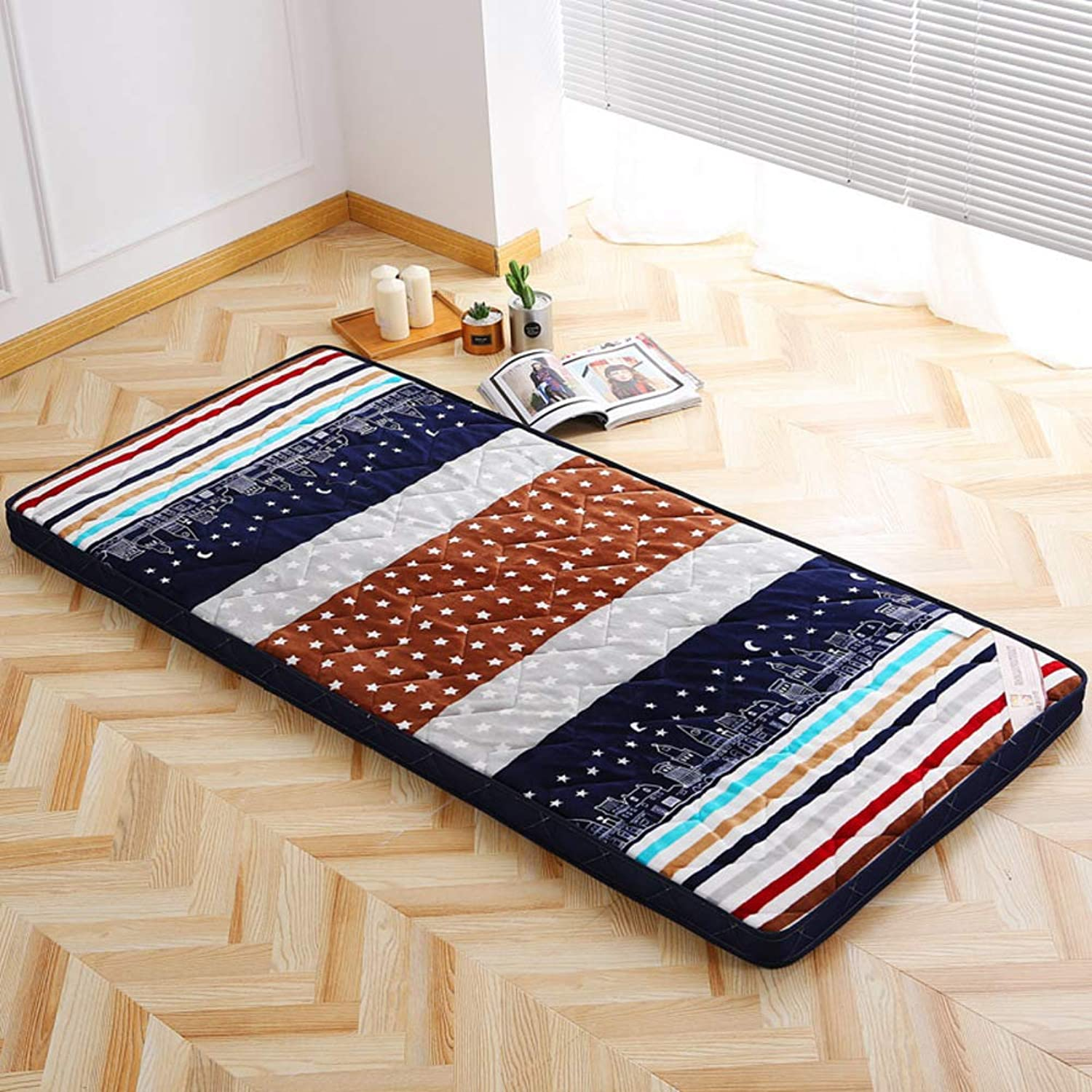 Sleeping Matt Mat,matt Mat,Bed Mattress Student Single Mattress,Dormitory Floor Tatami-h 90x200cm(35x79inch)