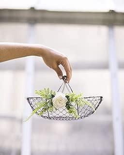 Best copper flower girl basket Reviews