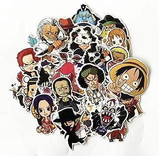 Macbook bagagli ALTcompluser One Piece Stickers Adesivo impermeabile in vinile per laptop skateboard 50 pezzi.