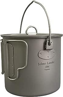Jolmo Lander Titanium 1100ml Pot with Bail Handle