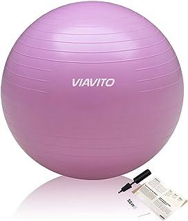 Viavito 200kg Gymball Anti-Pinchazos - Balón De Ejercicios Con Bomba