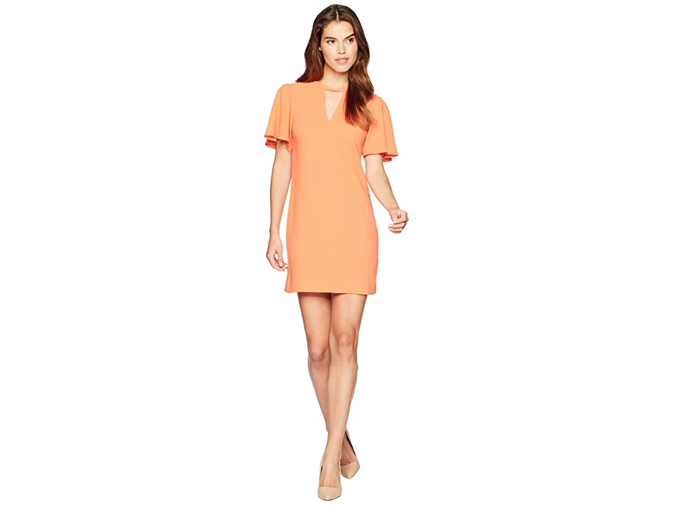Trina Turk Anderson Dress (Orange Crush) Women