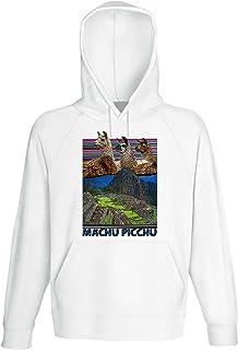 Machu Picchu Alpaca - Peru Sudadera con Capucha