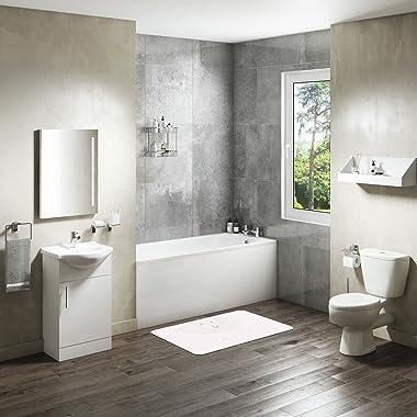 Bonamaison Bathmat, Polyester, Multicolor, 100X60 cm