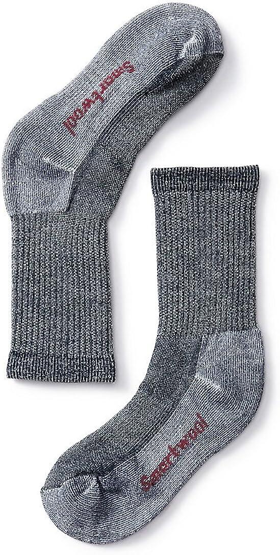 Smartwool Kid's Hike Medium Crew Merino Wool Socks, Deep Navy, Extra Small