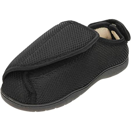 jwf Unisex Extra Wide Fit Closed Toe Slippers Shoe