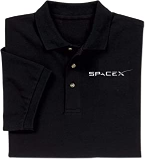 ComputerGear Elon Musk Falcon Dragon SpaceX Shirt Logo Polo Golf for Men Women