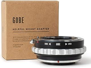 Gobe - Adaptador de Lente Compatible para Lentes Nikon F (G-Type) y cuerpos de cámara Micro Cuatro Tercios (M4/3)
