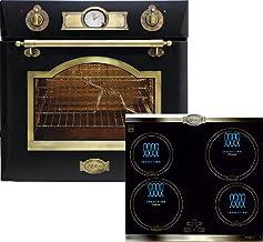 Juego de cocina Autark Kaiser Empire, instalación de horno Kaiser Eh 6355Em + placa de inducción de 60 cm, pincho giratorio Kaiser Empire