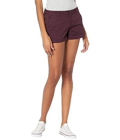 Volcom Frochickie Shorts (Black Plum) Women