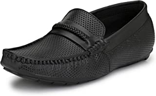 HiREL'S Men's Leather Loafers