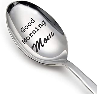 Good morning Mom Spoon-mom gifts-mom gifts for birthday-mom gifts from daughter-mom gifts from son