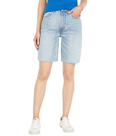 Lucky Brand High-Rise Bermuda Shorts in Waves