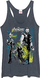 Women's Avengers: Infinity War Space Crew Racerback Tank Top