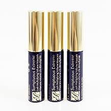 Estee Lauder Sumptuous Extreme Lash Multiplying Volume Mascara #01 Extreme Black 2.8 ml Travel Size (pack of 3, 0.3 oz / 8.4 ml total)