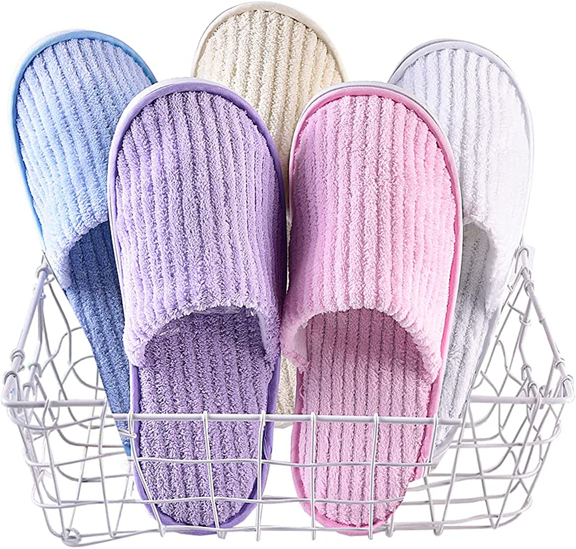 SPA Slippers Guest Hotel Soft Flee Topics on TV NEW before selling ☆ Dispossible