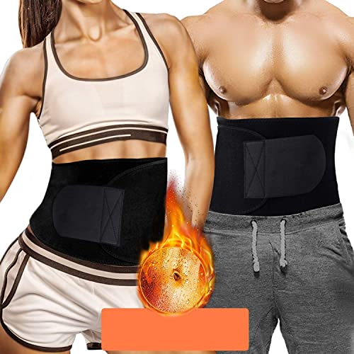 Frokht Sweat and Slimming Belt for Men and Women