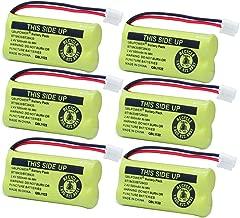 QBLPOWER BT18433 BT28433 BT184342 BT284342 BT-1011 Phone Battery Compatible with AT&T Vtech CL80109 CS6209 TL90078 BT-8300 BATT-6010 Uniden BT-1018 BT-1022 CS6219 CS6229 DS6301 DS6151 DS6101(6 Pack)