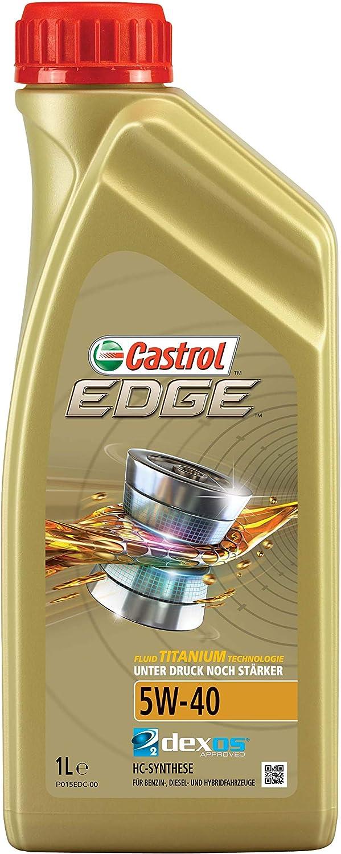 Castrol 24909 Edge Motorenöl 5w 40 Motorenöl 1l Auto