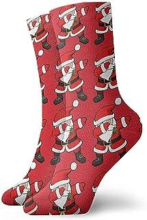 Dydan Tne, Funny Dabbing Santa Claus Christmas Dab Dress Calcetines Funny Socks Crazy Socks Calcetines Casuales para niñas niños