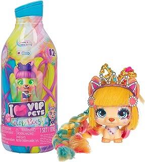 IMC Toys VIP Pets Color Boost - شامل 1 عروسک حیوان خانگی VIP ، 9 سورپرایز ، 6 لوازم جانبی | کودکان 3 ساله (712003)