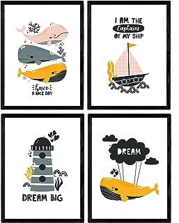Set di Poster per la Camera dei Bambini, Unisex, Stampa Arti