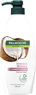 Palmolive Naturals Hair Conditioner 700mL, Intensive Moisture with Coconut Cream, For Dry and Coarse Hair, No Parabens Pht...