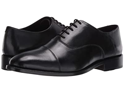 Anthony Veer Clinton Cap Toe Oxford (Black) Men