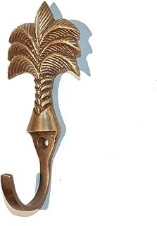 Living Explorers Palm Tree Brass Hook Mini (Single Unit)