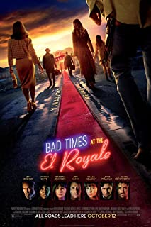 BAD TIMES AT THE EL ROYALE MOVIE POSTER 2 Sided ORIGINAL FINAL 27x40