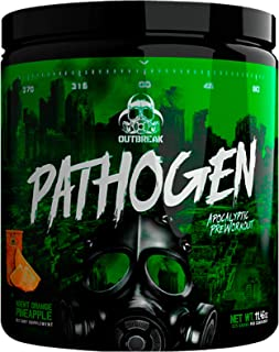 Pathogen Pre Workout - Energy Boosting Preworkout Powder, Energy Inducing Stimulants and Muscle Pump Evoking Compounds, Ag...