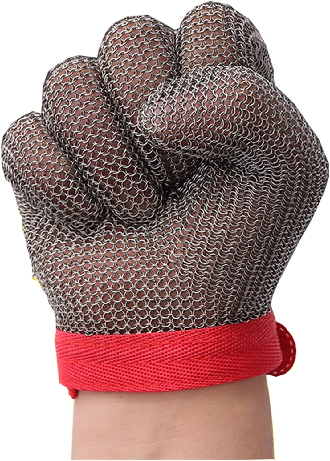 Steel Wire Gloves Cut-Resistant Woodw and Max 42% Ranking TOP2 OFF stab-Resistant