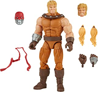 Hasbro Marvel Legends Series 6-inch Scale Action Figure Toy Sabretooth, Includes Premium Design, 3 Accessories, and 1 Buil...