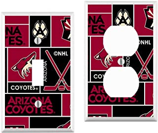 Arizona Yotes Light Switch Cover : your custom choice of switch plate/outlet covers