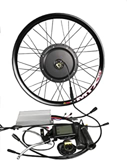 theebikemotor Waterproof 48V1000W Electric MTB Bicycle E Bike Hub Motor Conversion kit MTX Rim + LCD Display